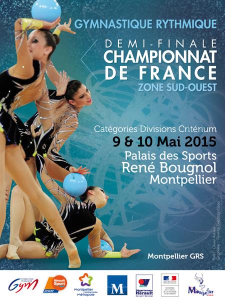 Affiche zones Montpellier GRS