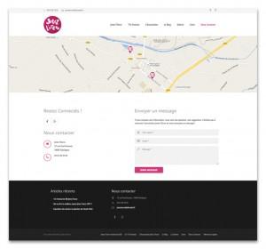 Web Design Festival BD Jetez l'Encre